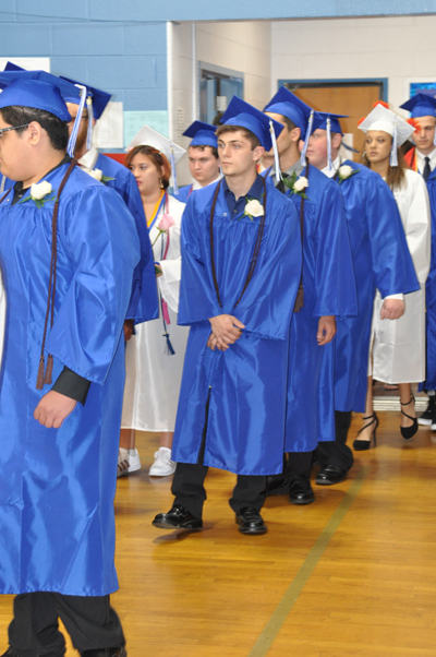 Class of 2018 entering commencement
